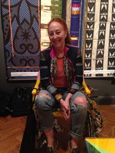 Marianne Fassler, Brighton Museum, May 2016.