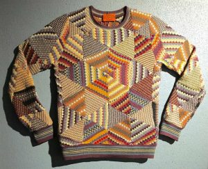 Missoni Knitwear. Photograph by Susan Bishop