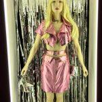 Fig 1. Barbie, costume by Stef Greenslade. Photograph Susan Bishop