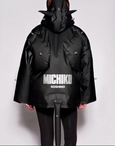 Inflatable jacket kindly loaned by Michiko London Koshino